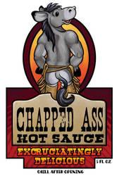 Chapped Ass Hot Sauce by ursulav