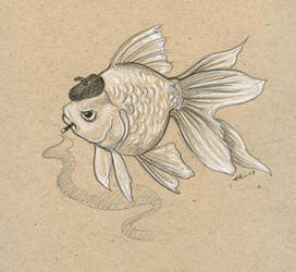 Smoking Fish by ursulav