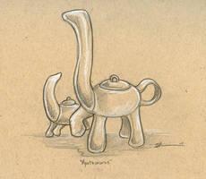 Apotasaurus by ursulav