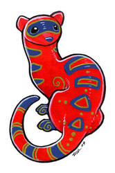 Vivid Ferret by ursulav