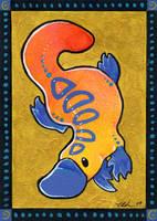 Vivid Platypus by ursulav