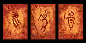 Utensilglyph Trio by ursulav