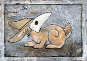 Rabbit Mask 3 by ursulav