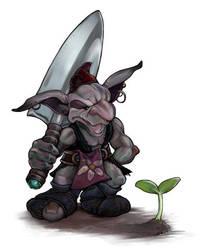 Garden Gnome by ursulav