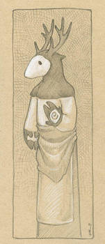 Deerform by ursulav