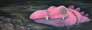 Clothodile by ursulav