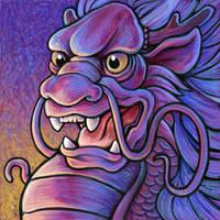 Asian Dragon by ursulav