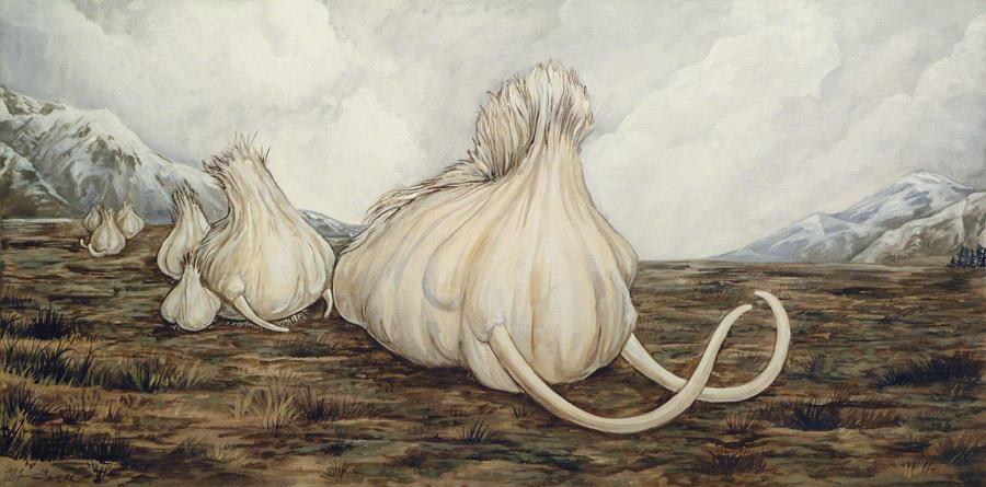 Mammoth Garlic by ursulav