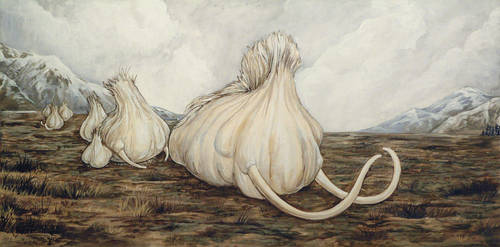 Mammoth Garlic by ursulav