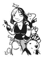 Portrait of the Artist by ursulav