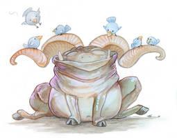 Happy Troll by ursulav