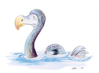 The Loch Ness Dodo by ursulav