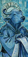 Saint of Bulls by ursulav