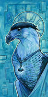 Caracara Saint by ursulav