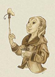 The Rat Balancer by ursulav