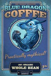 Blue Dragon Coffee by ursulav
