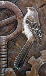 Mockingbird and Gears by ursulav