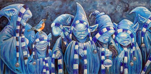 The Dour Brotherhood by ursulav