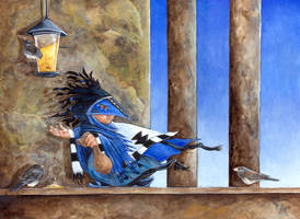 The Birdseed Thief by ursulav