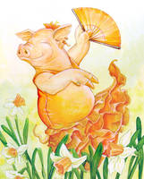 Spring Flamenco by ursulav