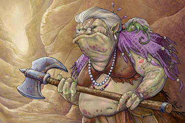 The Old Battleaxe by ursulav