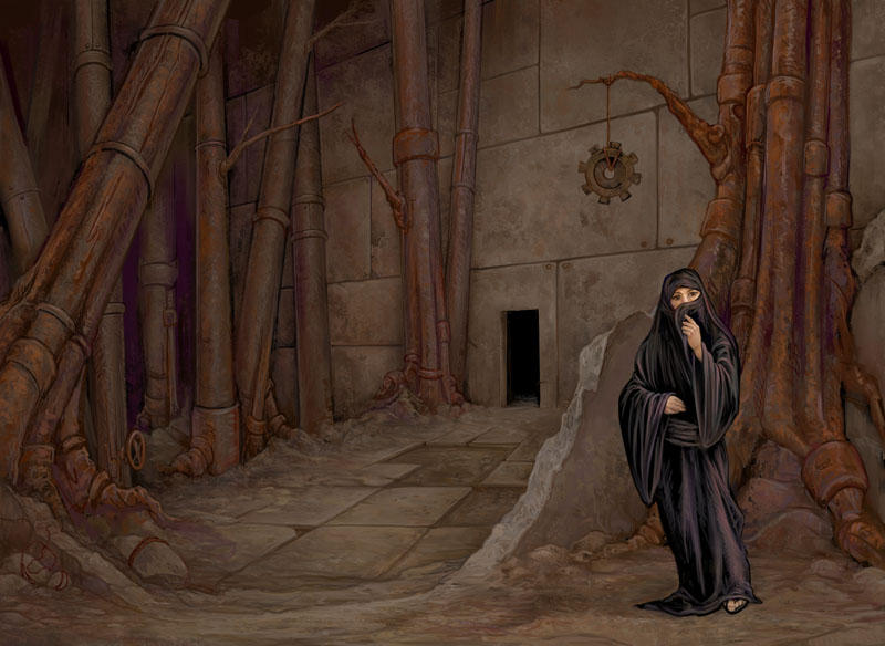 Gearworld: Steampipe Forest by ursulav