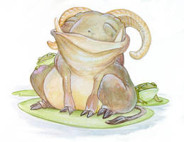 Frog Troll by ursulav