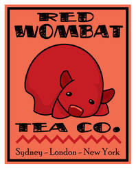 Red Wombat Tea Co. by ursulav