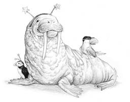 Arctic Party by ursulav