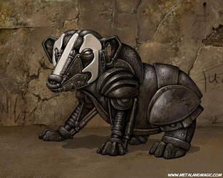 Badger Mech by ursulav