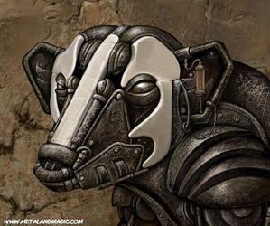 Badger Mech Detail by ursulav