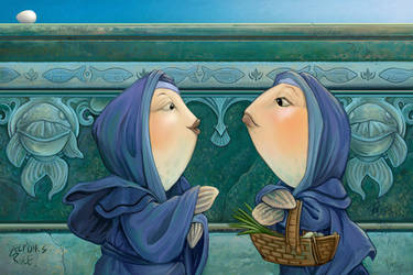 Fishwives by ursulav