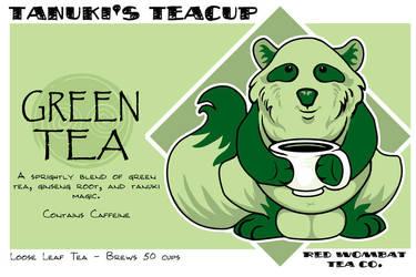 Tanuki's Teacup by ursulav