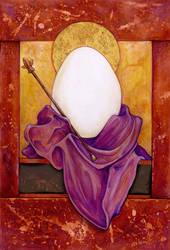 St. Egg by ursulav