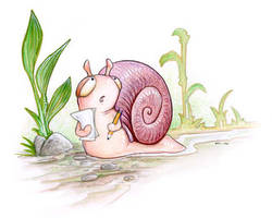 Actuarial Snail by ursulav