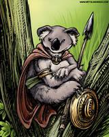 Koala Sentry by ursulav