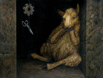 The Sheep by ursulav