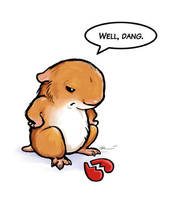 Hamster Heartbreak by ursulav