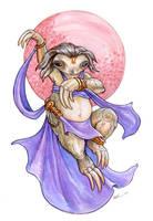 Sloth Dancer by ursulav