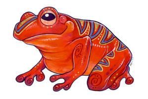 Vivid Frog by ursulav