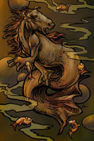Sewer Hippocampus by ursulav