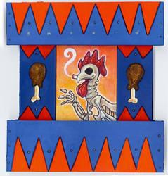 Smokin' Chicken Shrine by ursulav