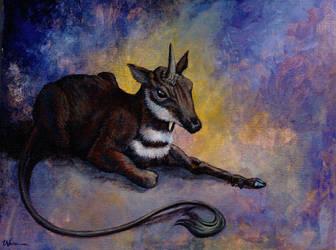 Primitive Unicorn by ursulav