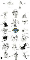 Zelda: Oracle of Ages Bosses by JNRedmon