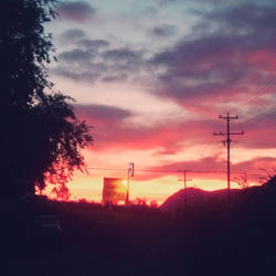 Sunset in B.C. by RockyRoad1200