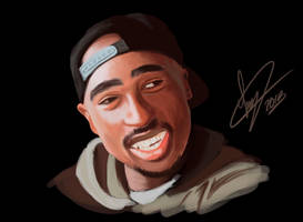 2pac by Laanz