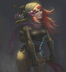 Mindi Lavender (alternate) by Fedodika