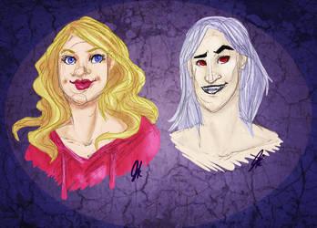 Arianna and Zeph by Shiezka
