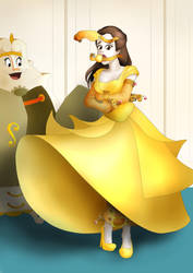 Belle's Ball Dress - Accessories Added by Akabane85
