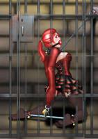Monster Prison - Vampirette by Akabane85